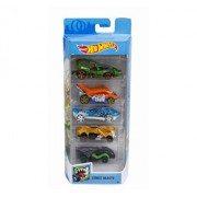 Set 5 masini, Hot Wheels Street Beasts