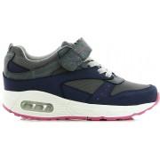 Little Champs Streets Sneakers, Dark Grey/Fuchsia 30