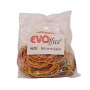 Elastice pentru Bani EVOffice, 90 g/Punga - Gume Elastice de Fixare