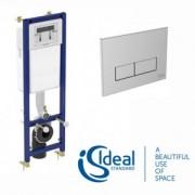 Rezervor cu cadru Ideal Standard pentru wc suspendat