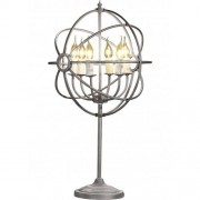 ROME Table lamp - Natural iron
