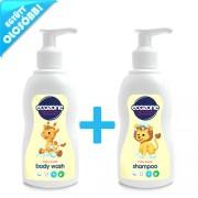 Ecozone Baby & Kids babaápoló csomag (tusfürdő és sampon)