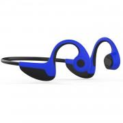 CE ROHS Certified Z8 CSR8635 Bluetooth 5.0 Wireless Bone Conduction Sports Headphones with Microphone - Blue
