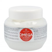 Kallos Regenerační maska na vlasy s omega-6 komplexem a makadamia olejem (Omega Hair Mask) 275 ml