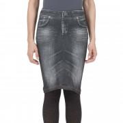 California Beauty Gonna stampa jeans effetto modellante