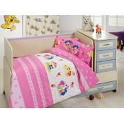 Lenjerie de pat pentru copii, Bahar Class Home Collection, material: 100% bumbac, 110BHR2009