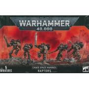 Warhammer 40.000 - Chaos Space Marines Raptors