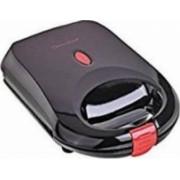 Sandwich-maker DomoClip DOP129 460W Placi fixe neaderente termostat automat indicator de preparare Negru
