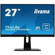 """IIYAMA 27"""" LCD iiyama XUB2792QSU-B1 - IPS,5ms, 350cd/m2, 2560x1440,DVI,HDMI,D"""