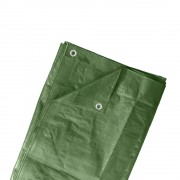 Jarolift Bâche de protection, Vert, 5x6 m, PE 90 g/m²