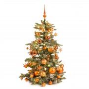 Xmasdeco Luxe kunstkerstboom koper warm 120cm