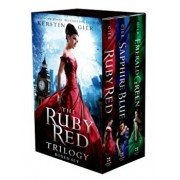 The Ruby Red Trilogy Boxed Set: Ruby Red, Sapphire Blue, Emerald Green, Paperback/Kerstin Gier