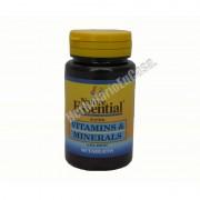 Nature Essential Vitaminas y minerales con hierro 60 comprimidos nature essential - vitaminas y minerales