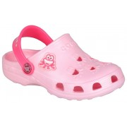 Coqui Papuci pentru copii Little Frog 8701 Candy Pink/New rouge 101745 28-29