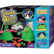 Sands Alive Glow világító szörnyecskék homokgyurma készlet - Sands Alive készletek