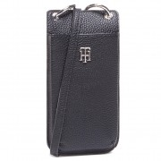 Калъф за телефон TOMMY HILFIGER - Th Essence Phone Wallet AW0AW08907 BLK