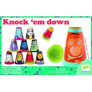 Djeco Knock 'Em Down Party Game