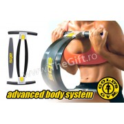 Gold's Gym ABS, pentru abdomen, coapse si brate