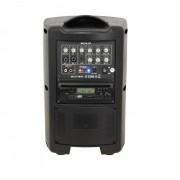 Ibiza MOV8-CD Sistema amplificador portátil 150W CD USB SD Bluetooth VHF