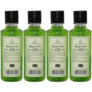 Khadi Pure Herbal Aloevera Body Wash - 210ml (Set of 4)
