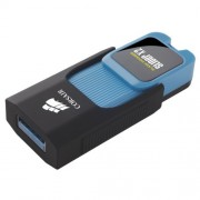 USB DRIVE, 32GB, Corsair Voyager Slider X2, USB3.0, Blue Housing, Read 200MBs, Write 90MBs (CMFSL3X2-32GB)