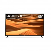 pantalla led lg ai thinq 49 pulgadas 4k smart 49um7100pua