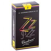 Vandoren Sr402 Soprano Sax Zz Reeds Strength 2; Box Of 10