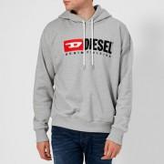 Diesel Men's Division Overhead Hoody - Grey - L - Grey