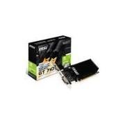 Placa De Vídeo Vga Msi Geforce Gt 710 2gb Ddr3 64bits - Gt 710 2gd3h Lp