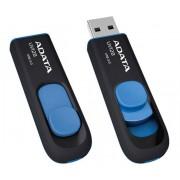 USB Flash Drive 64Gb - A-Data UV128 USB 3.0 Black-Blue AUV128-64G-RBE