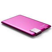 Xoopar PowerCard 1300mAH (pink) credit card size charger