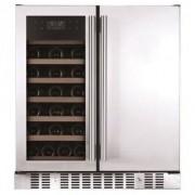 Snomaster VT-19D Pro Dual Wine Chiller/ Beverage Cooler
