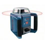 """Лазер ротационен GRL 400 H, 20 m/400 m, ± 0,08 mm/m, ± 8 % (± 5°),15 s, 5/8"""", 1,8 kg, 0601061800, BOSCH"""