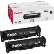 Тонер касета за Canon LBP CRG 718 BK 2P - 2662B005AA