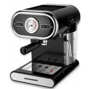 Espressor cafea Heinner HEM-1100BK, 1100 W, 15 bari, sistem de spumare, rezervor 1 litru, negru