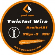 GeekVape Twisted DIY Kanthal Triple KA1 Tape Wire (28GA X 3)