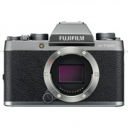 Fujifilm X-T100 Body Aparat Foto Mirrorless 24.2MP APSC Dark Silver