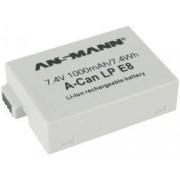 Ansmann A-Can LP-E8 batteria ricaricabile Ioni di Litio 1000 mAh 7,4 V