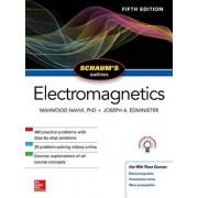 Schaum's Outline of Electromagnetics, Fifth Edition, Paperback/Mahmood Nahvi