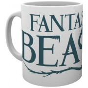 GYE Fantastic Beasts - Green Logo Mug