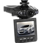 HD Portable Car Dvr With 2.5 TFT LCD Screen For Recording While On The Road