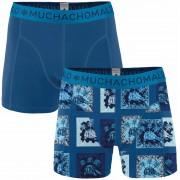 Muchachomalo Shorts 2er-Pack Turtle 10 - Dunkelblau XXL