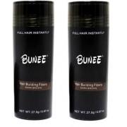Hårfiber.nu 2x Bunee Large - Valfri Färg - 27,5g - Dark Brown