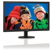 "Philips V-line 273V5LHSB - Monitor LED - 27"" - 1920 x 1080 Full HD (1080p) - 300 cd/m² - 1000:1 - 5 ms - HDMI, VGA - preto text"
