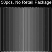 50 Pcs Para Huawei Y6 0.26mm 9h Dureza Superficial 2.5D A Prueba De Explosion Tempered Glass Film, Sin Paquete Al Por Menor