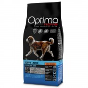 Optimanova Large Puppy con pollo y arroz - Pack % - 2 x 12 kg