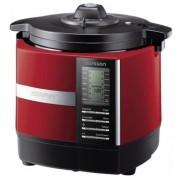 Multicooker Oursson Versatility MP5005PSD/DC, Timer, gatire aburi/sub presiune, 1200 W (Negru/Rosu)