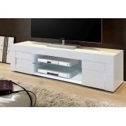 Basika Meuble tv Cortina blanc brillant Basika Blanc brillant