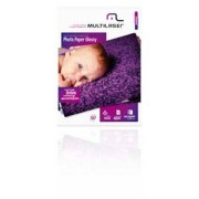 Multilaser Papel Fotografico Glossy Multilaser A4 50Fls Pacote - PE012 PE012