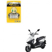 Auto Addict Scooty Tire Pressure Air Alert Iron Tyre Valve Caps Set of 4 Pcs For Indus Yo Edge